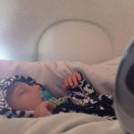 santiago dorme in aereo