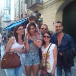 belen santiago foto con fan